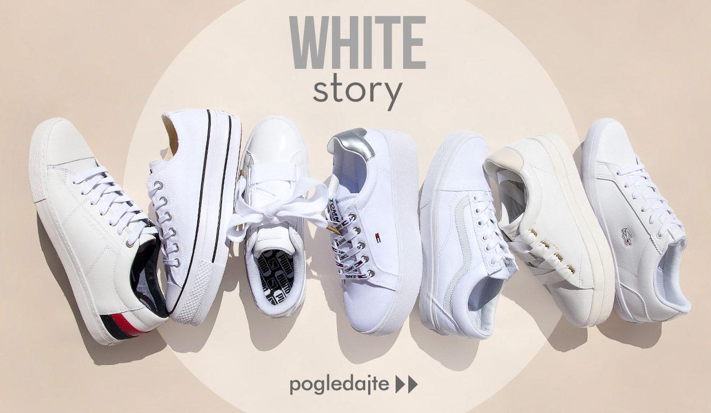 WHITE STORY - BIJELA PRIČA obuća patike Office shoes Bosna - Proljeće Ljeto  2018