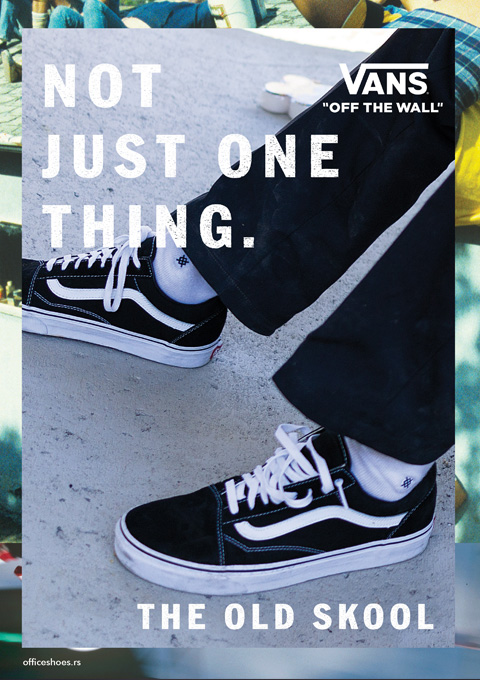 VANS - OFF THE WALL - Kolekcija Jesen Zima 2017 - Office shoes BOSNA