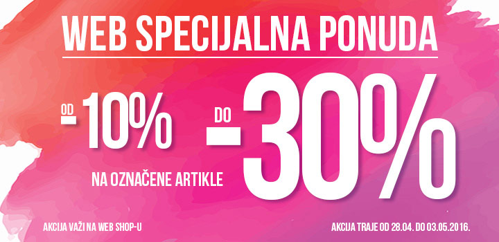 WEB SPECIJALNA PONUDA do -30% na oznacene nove modele kolekcija Office shoes Bosna